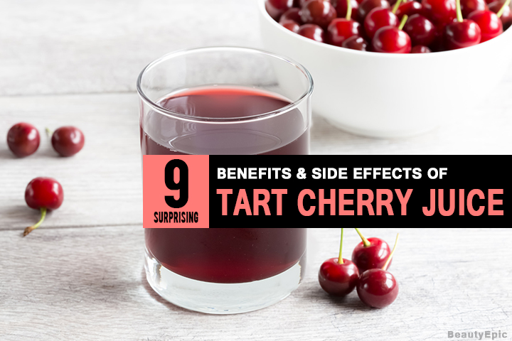 9 Surprising Tart Cherry Juice Benefits & Side Effects You Might Not Know
