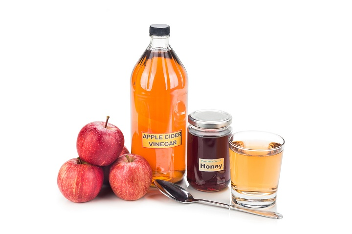 apple cider vinegar and honey for headaches