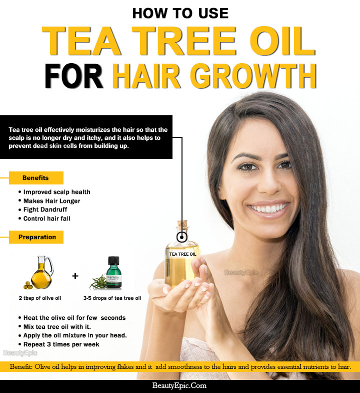 How To Use Tea Tree Oil For Faster Hair Growth