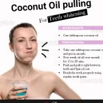 How To Whiten Teeth With Coconut Oil Pulling?