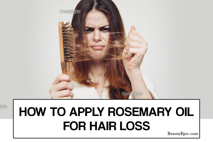 How to Apply Rosemary oil for Hair Loss?