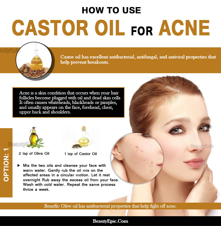 How to Use Castor oil for Acne?