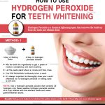 How to Use Hydrogen Peroxide Safely to Whiten Teeth