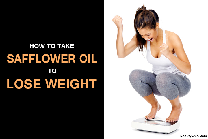 how to take safflower oil to lose weight