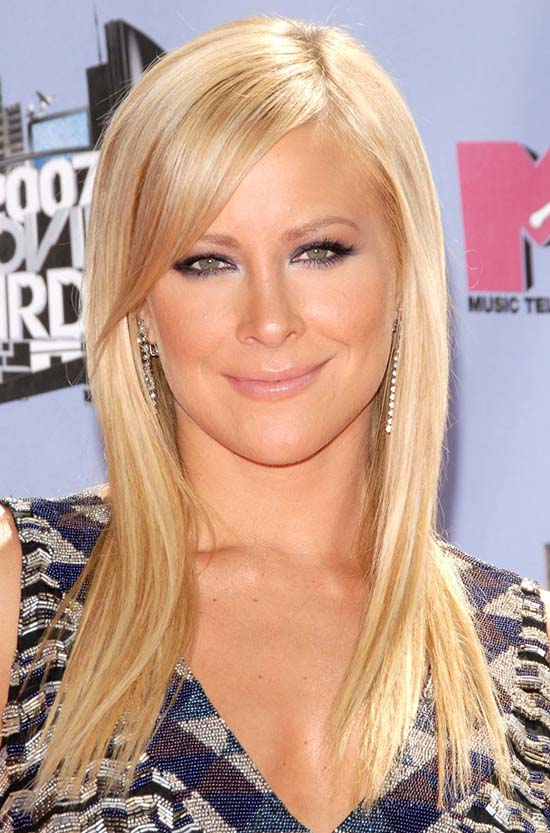 Brittany Daniel Blonde Hair with Bangs