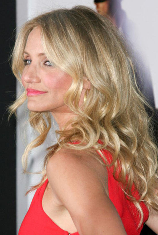 Cameron Diaz Curly Hair