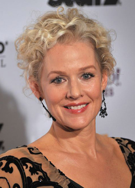 Penelope Ann Miller Curly Blonde Hair