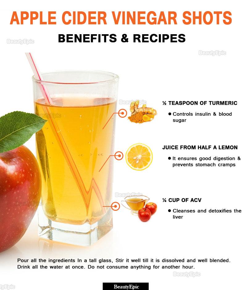 Apple Cider Vinegar Shots: Benefits and Recipes