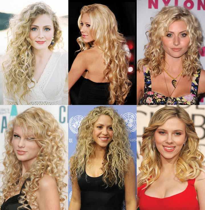 Top 15 Amazing Curly Hairstyles With Blonde Hair