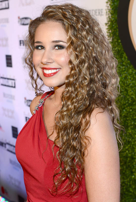 haley reinhart curly hair
