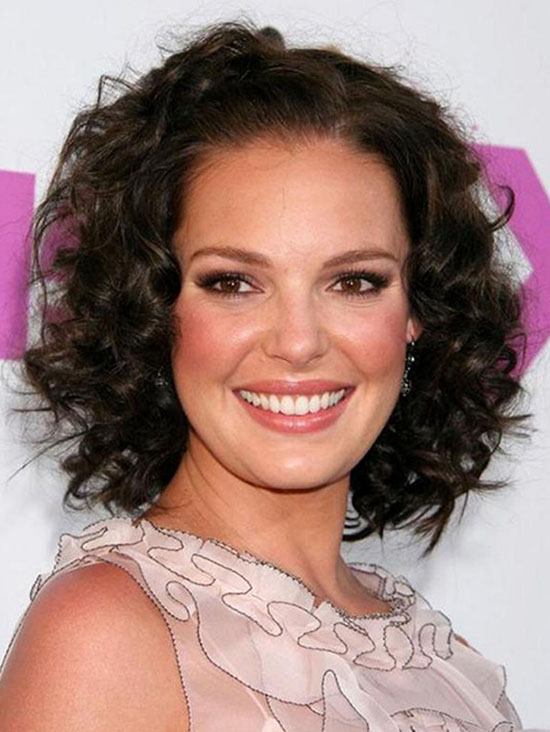 katherine heigl curly hair