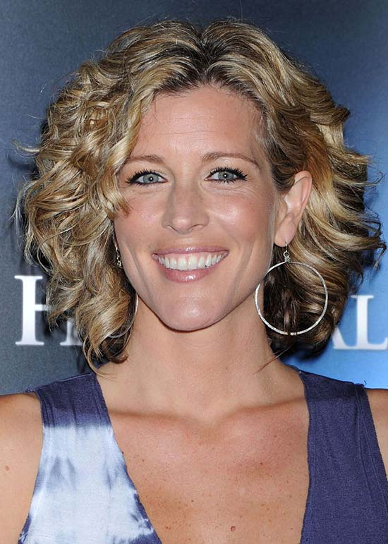 laura wright curly hair