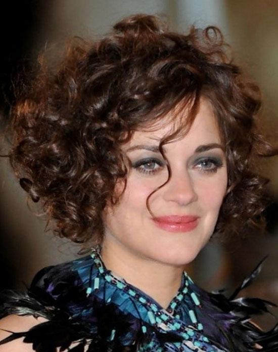 marion cotillard curly hair
