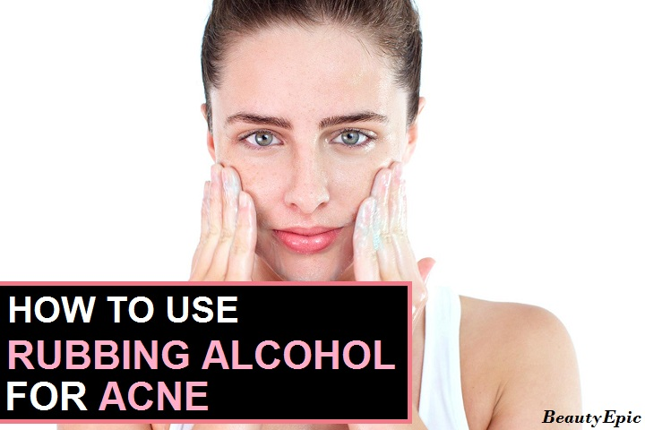 Does Rubbing Alcohol Get Rid of Acne?