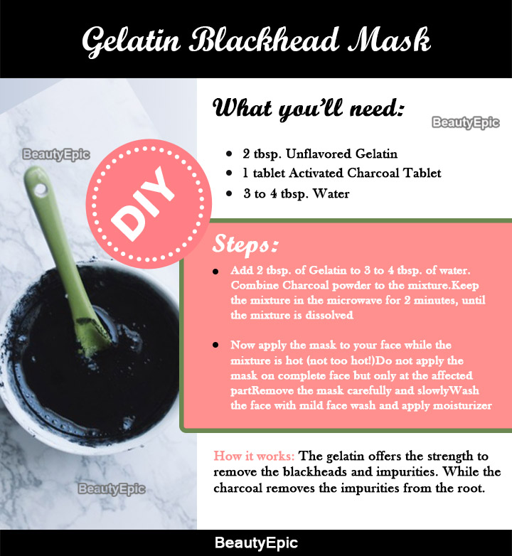 how to use gelatin powder for face mask