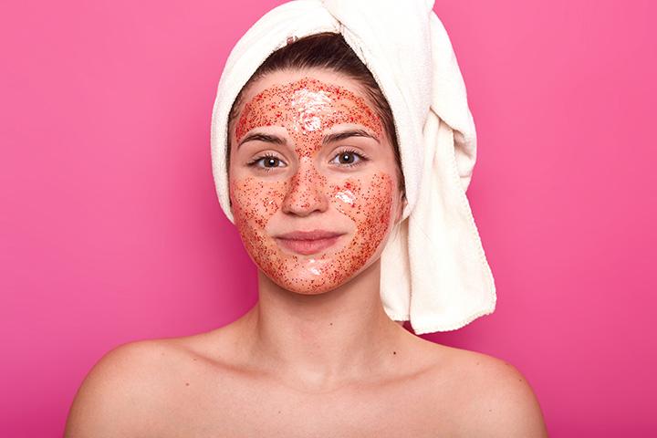 diy tomato face mask