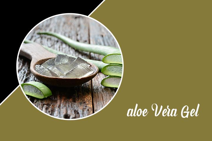 Aloe Vera Gel and Castor oil for Eyelashes