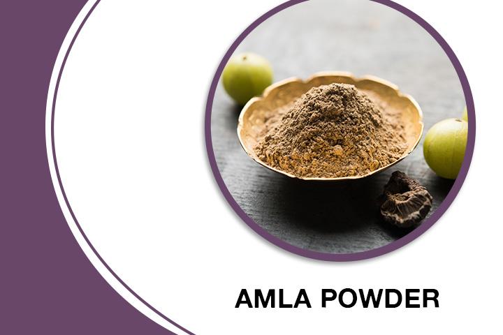 Amla Powder for Thick Hair