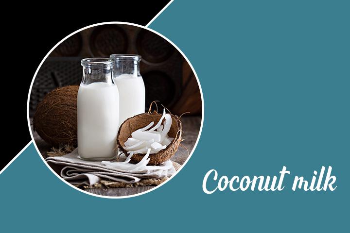Coconut Milk for Eyelashes
