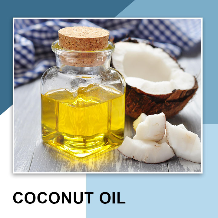 Coconut oil for Thick Eyebrows