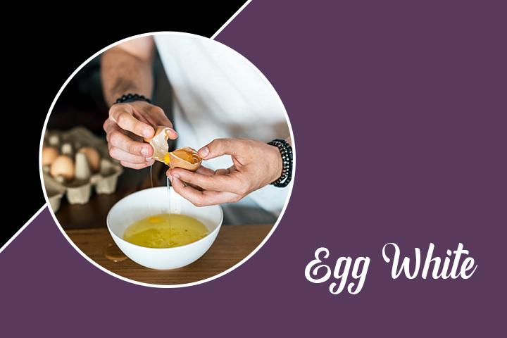 Egg White for Eyelashes