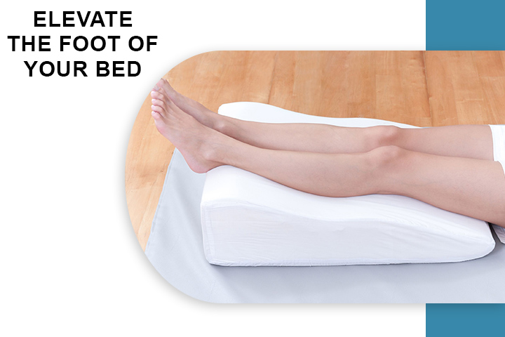 Elevate the Foot of Your Bed for Varicose Veins