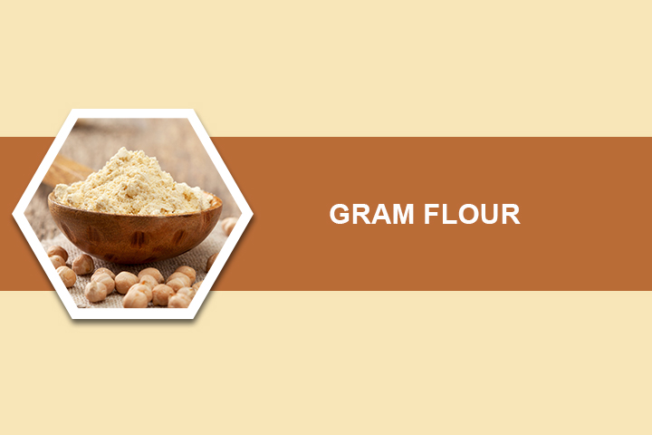 Gram Flour for Dark Underarms