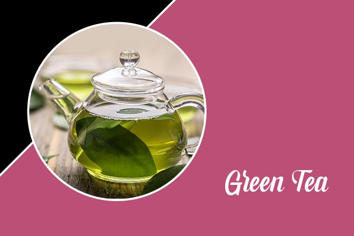 Green Tea for Eyelashes