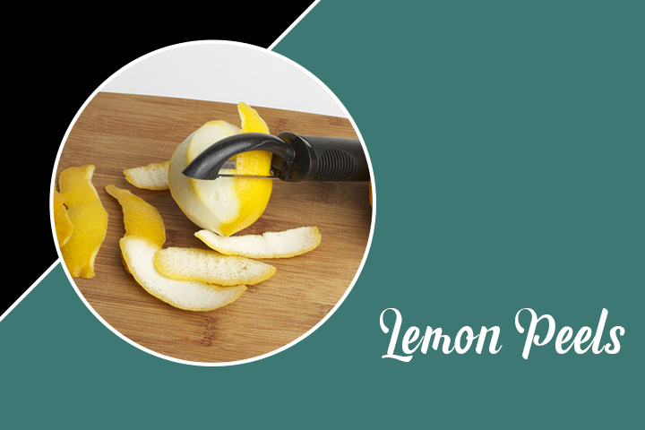 Lemon Peels for Eyelashes