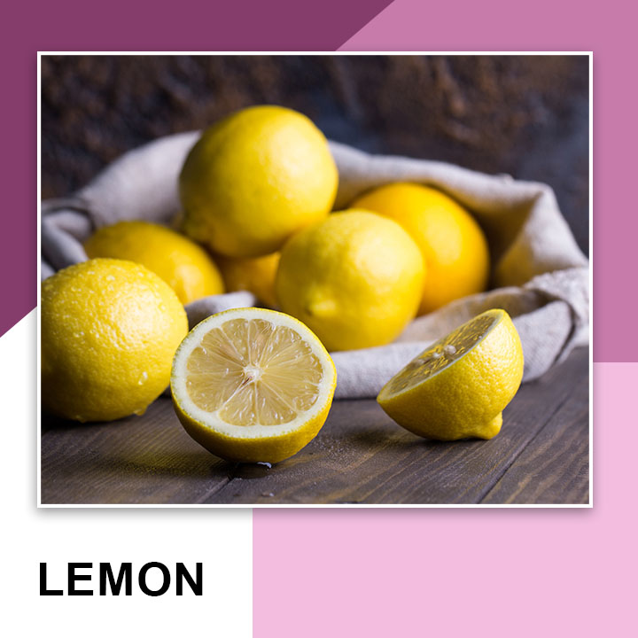 Lemon for Eyebrow Growth