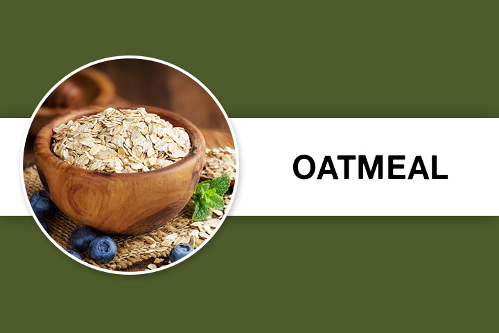 Oatmeal for Facial Hair Removal