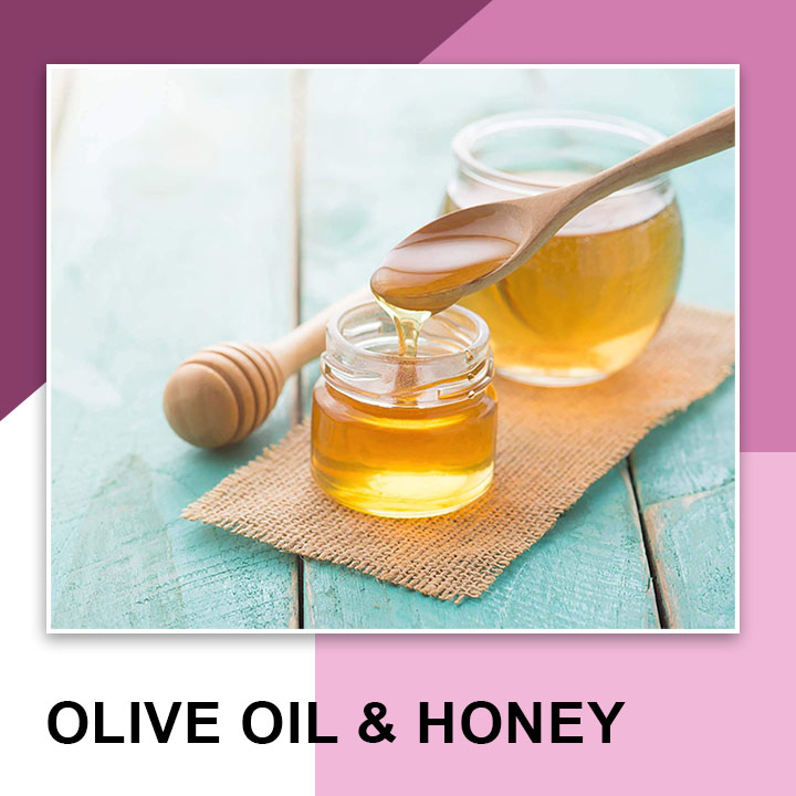 Olive oil and Honey for Eyebrow Growth