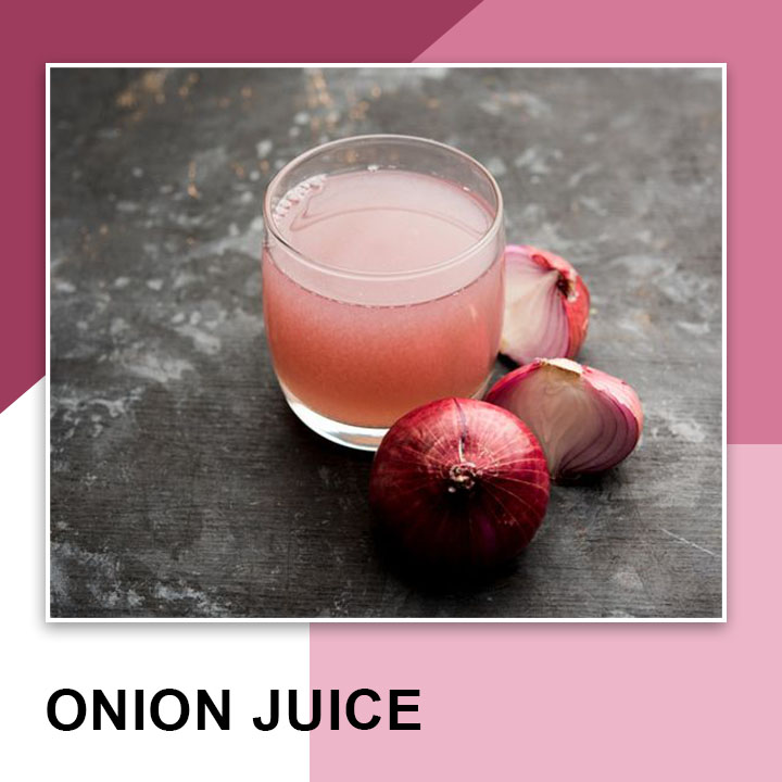 Onion Juice for Eyebrows Growth