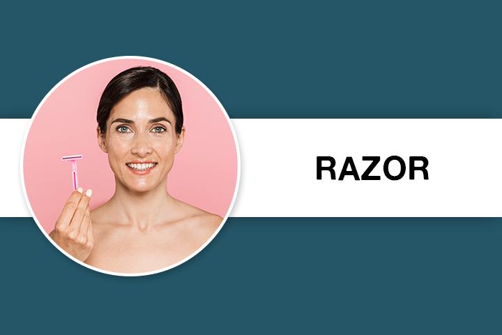Razor for Facial Hair Removal