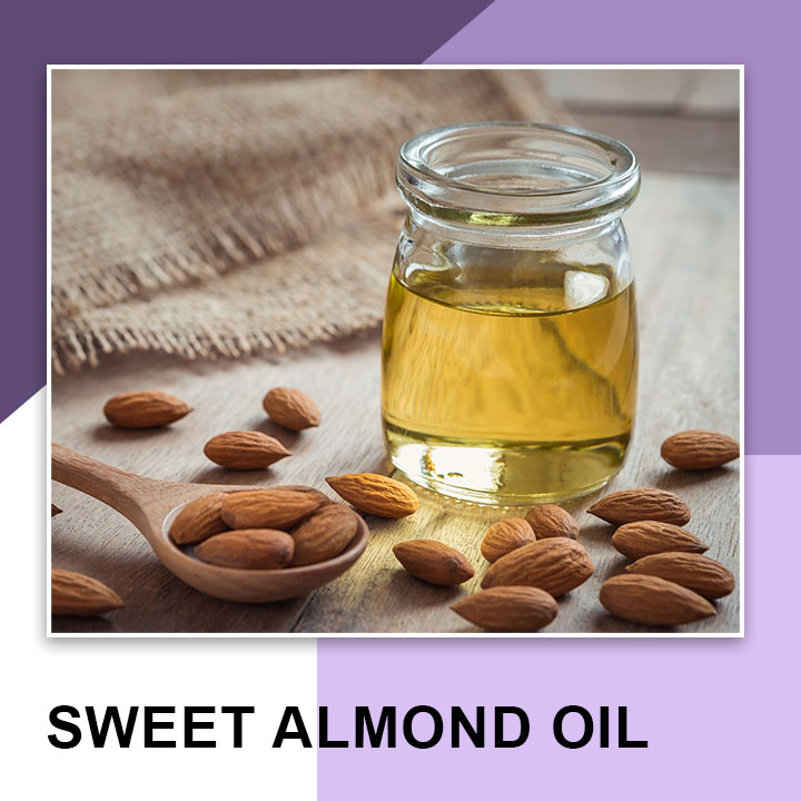 Sweet Almond oil for Eyebrows Growth