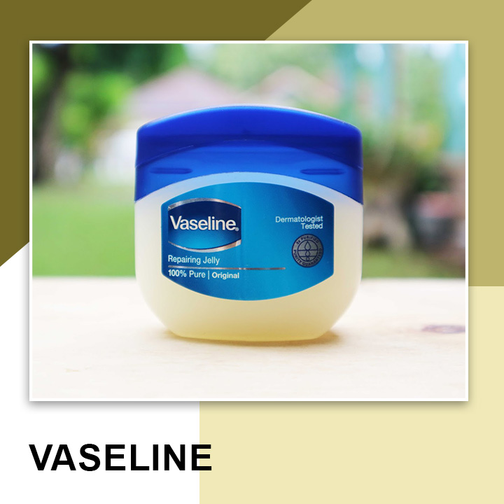 Vaseline for Thick Eyebrows