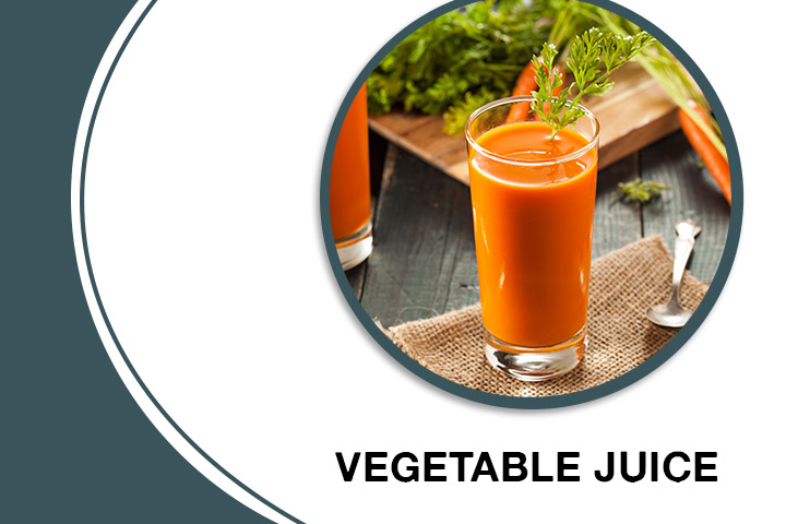 Vegetable Juice for Thick Hair