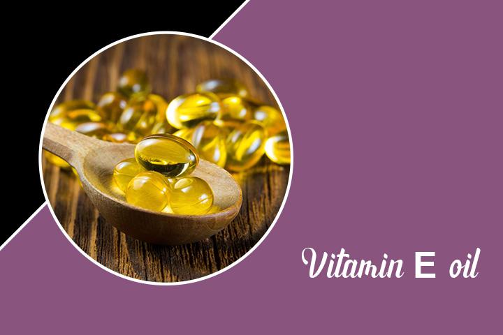 Vitamin E oil for Eyelashes