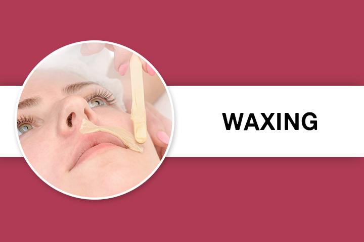 Waxing for Facial Hair Removal
