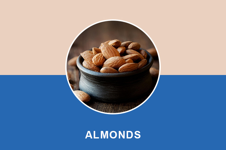 almonds for Wrinkles