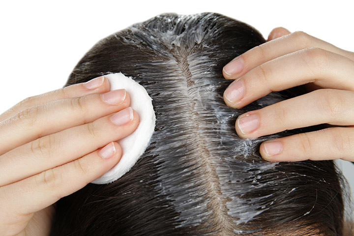 how to apply onion juice for hair growth