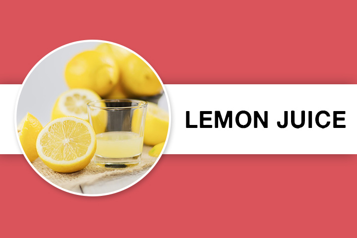 lemon juice for Facial Hair Removal