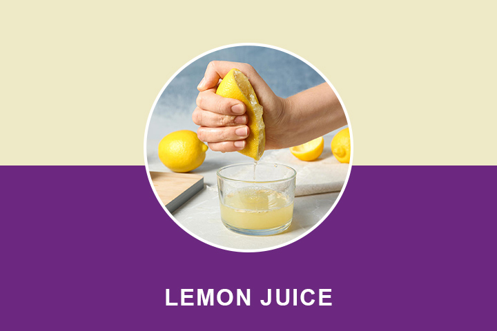 lemon juice for wrinkle removal