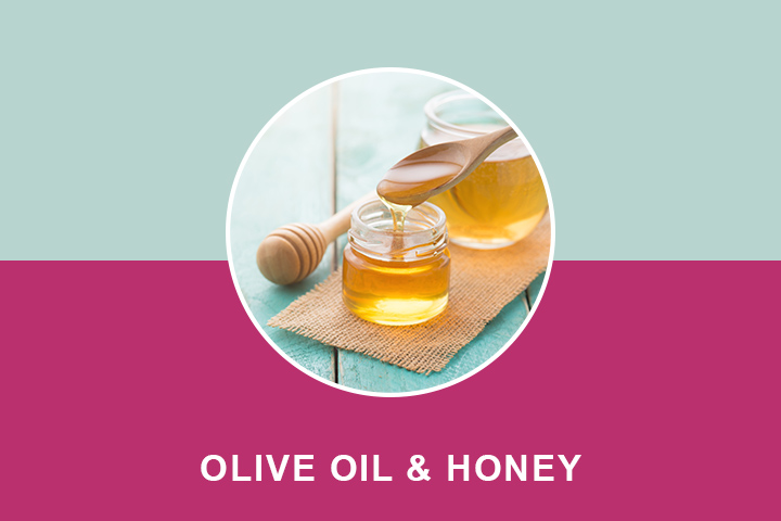 olive oil and honey for wrinkles