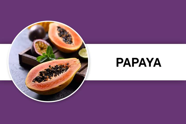 papaya for Facial Hair Removal