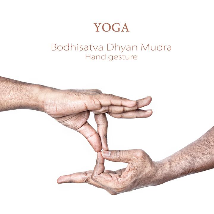 Bodhisattva dhyana mudra