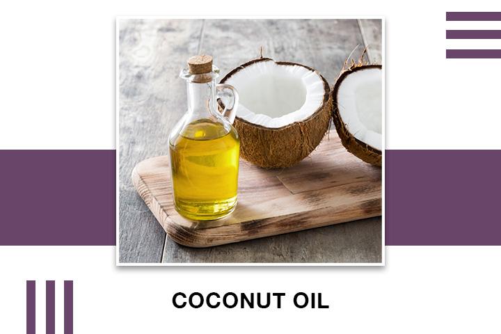 Coconut oil for Skin Tightening