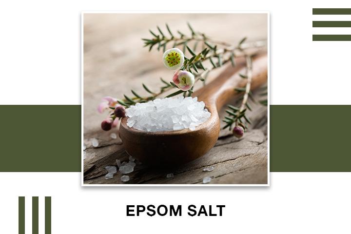 Epsom Salt for Skin Tightening