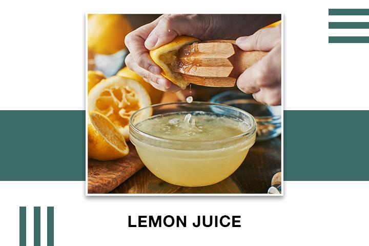 Lemon Juice for Skin Tightening