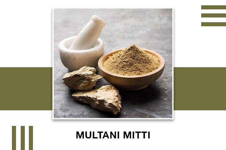 Multani Mitti (Fuller's earth) for Skin Tightening